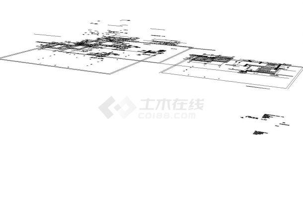 传达室建筑设计施工图-图二
