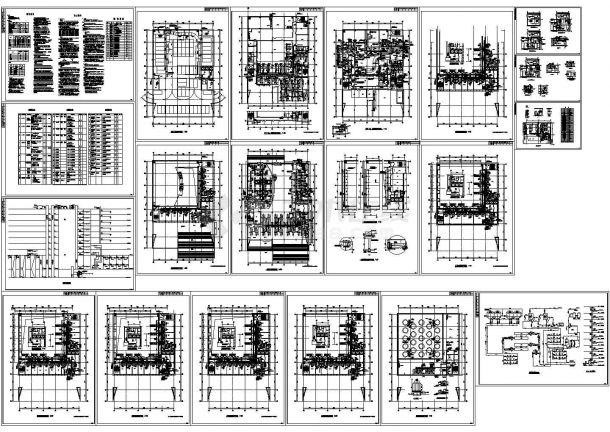 某办公楼暖通空调设计cad施工图-图一