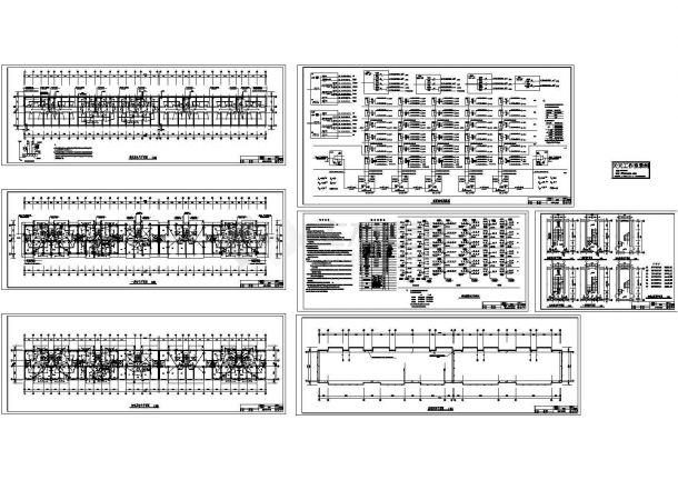 8233平方米高层住宅电气设计施工cad图纸,共七张-图一