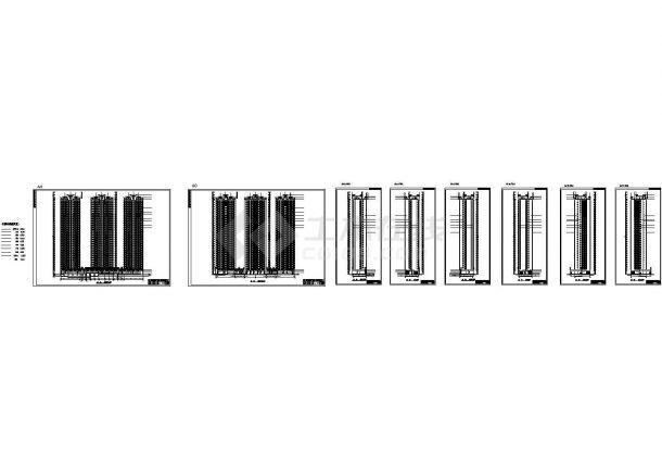 某三十层豪华住宅E、D栋建筑设计施工图-图二