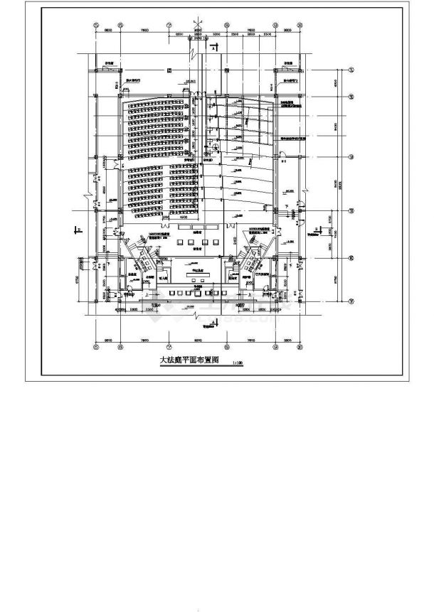 某十八层商住楼建筑设计施工图-图二