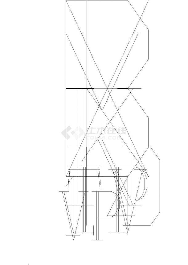 某地高层住宅电气施工设计CAD图纸.(标注详细)-图一