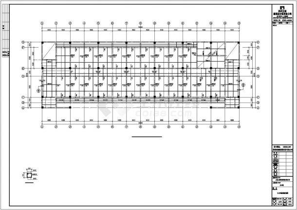 【最新】某公司办公楼钢结构工程设计方案CAD图纸-图二