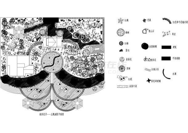 城市休闲庭院景观设计方案-图一