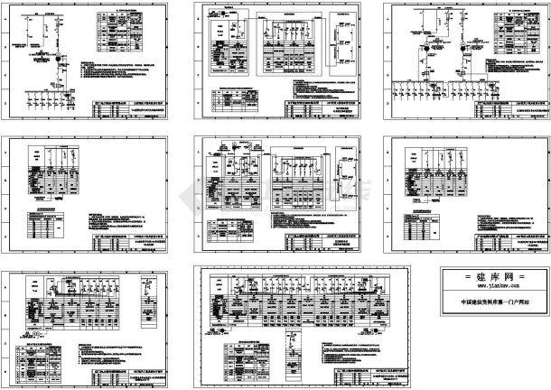 某10kV变电站公用电部分设计cad全套电气施工图(含土建设计,含word版详细设计说明)-图一