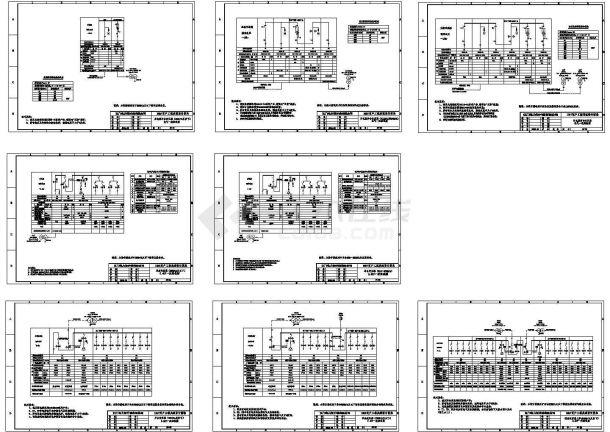 某10kV变电站公用电部分设计cad全套电气施工图(含土建设计,含word版详细设计说明)-图二