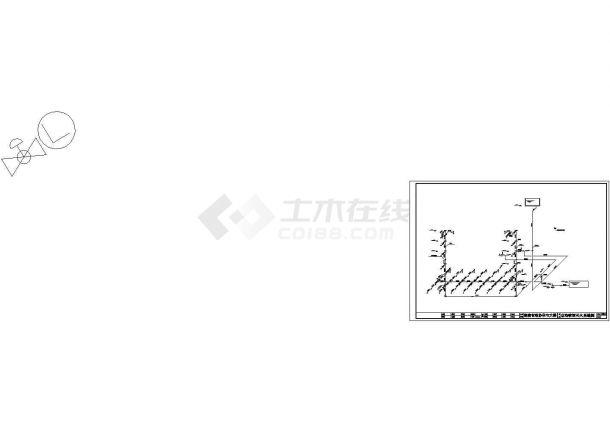 某高层住宅给排水系统设计CAD施工图-图二