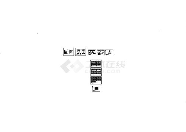 上海]种蓄场泵站河道cad施工图设计(标注详细)-图一