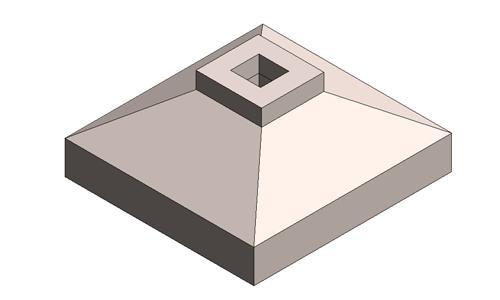 独立基础-陂形-杯口-非对称
