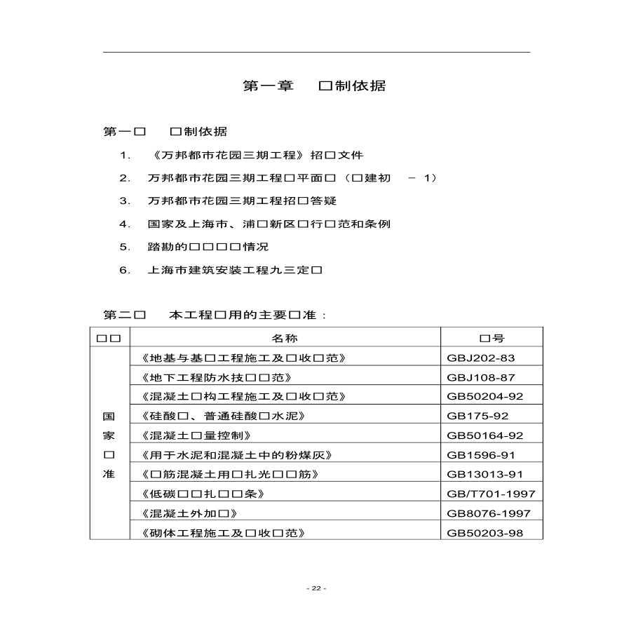 上海住宅小区施工组织设计-图一