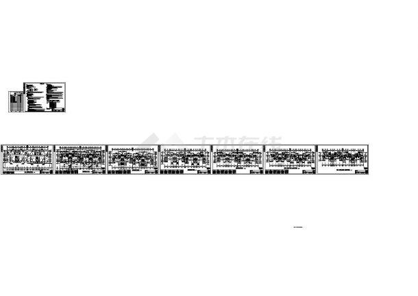 某住宅小区花园洋房舒适性空调设计cad全套施工图(含设计说明)-图二