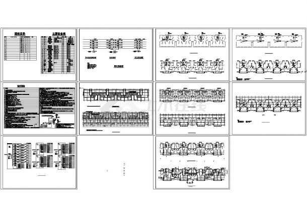 某四层住宅楼电气设计施工图纸-图二