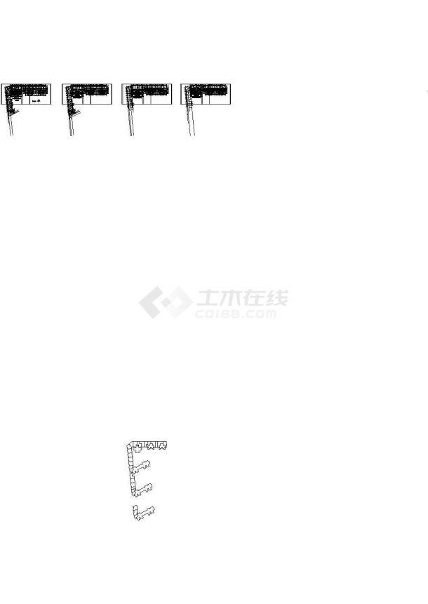 郑州某住宅小区给排水施工CAD图纸设计,含施工说明-图二