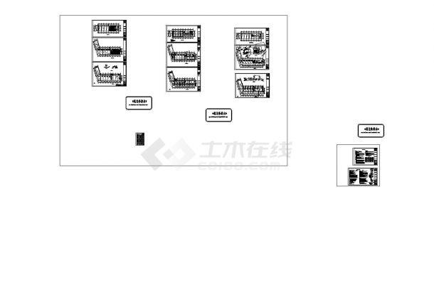[天津]商业楼水暖施工CAD图纸设计,含设计说明-图一