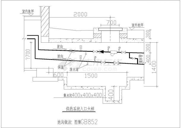 典型地板采暖工程设计cad大样图系列集合图纸(7个CAD文件)-图二