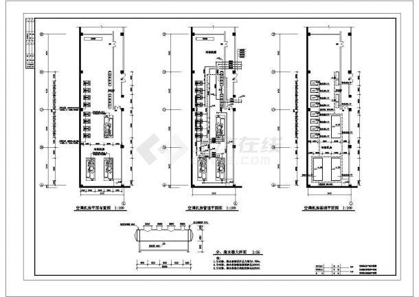 某地五金建材商场水系统、通风及排烟系统全套施工图-图二
