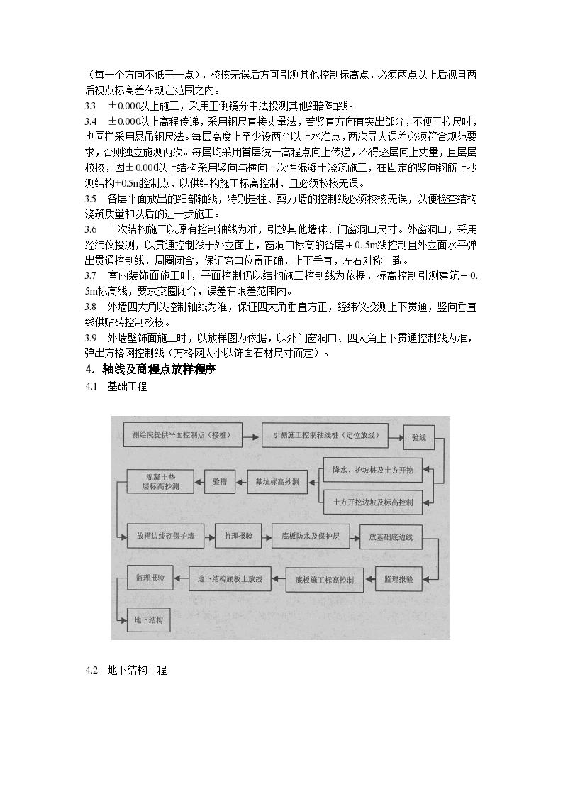 北京市建筑工程施工测量工程施工方案-图二