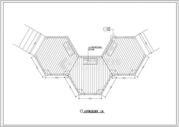 国家湿地公园景观设计CAD施工图全套-图一