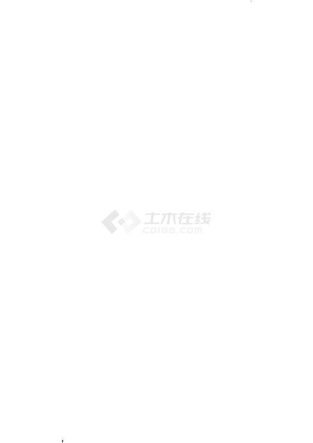 重庆一类高层32层住宅楼建筑给排水图纸-图一