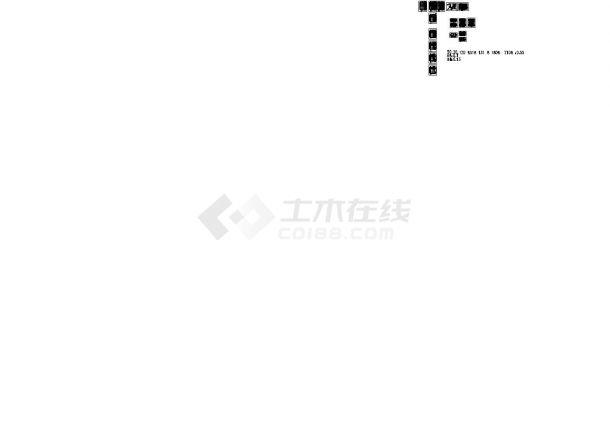 浙江某高层13层住宅给排水设计施工图纸-图二