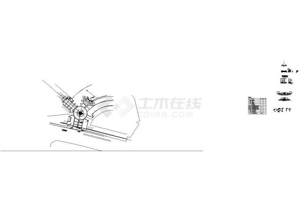 [宁波] 酒店景观给排水施工图-图二