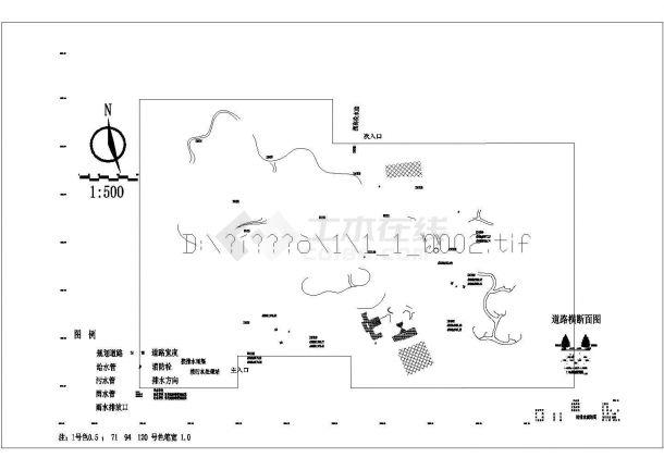 宣威市龙津森林公园景观设计图-图一