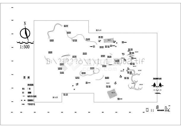 宣威市龙津森林公园景观设计图-图二