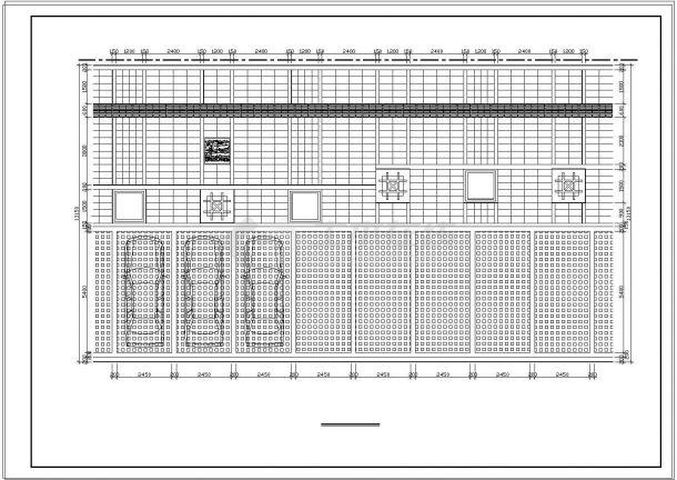 重庆某公园景观设计cad全套施工图-图一