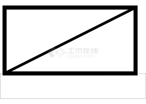 办公楼设计_江苏省某地高层办公楼电气施工全套cad图-图一
