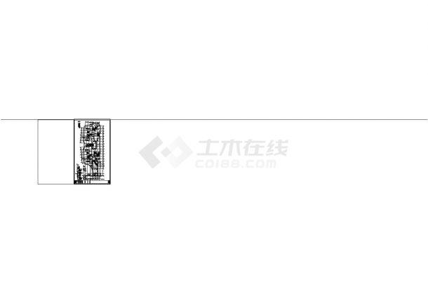 办公楼设计_江苏省某地高层办公楼电气施工全套cad图-图二