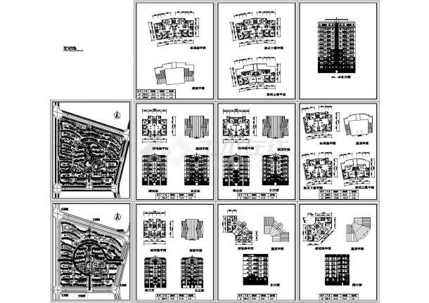 小区规划设计图总平面图 配套建筑方案图设计-图二