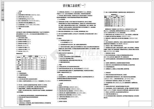 某多层办公楼空调新风系统毕业设计cad全套施工图(含设计说明,含计算书及安装工程量清单)-图二