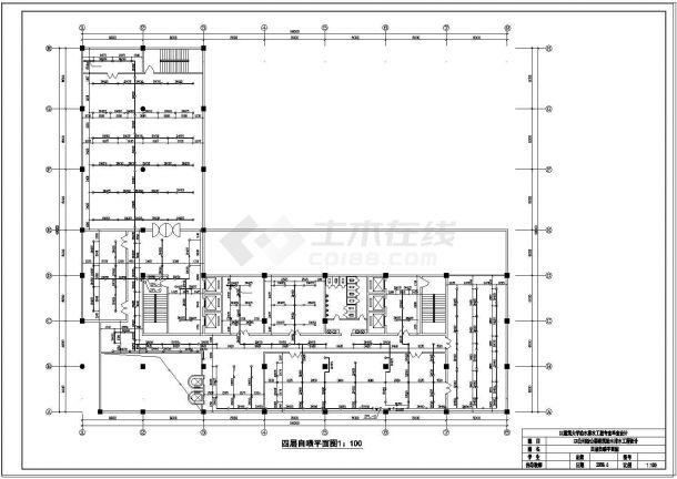 土木工程毕业设计_某大学建筑给排水全套毕业设计图纸-图二