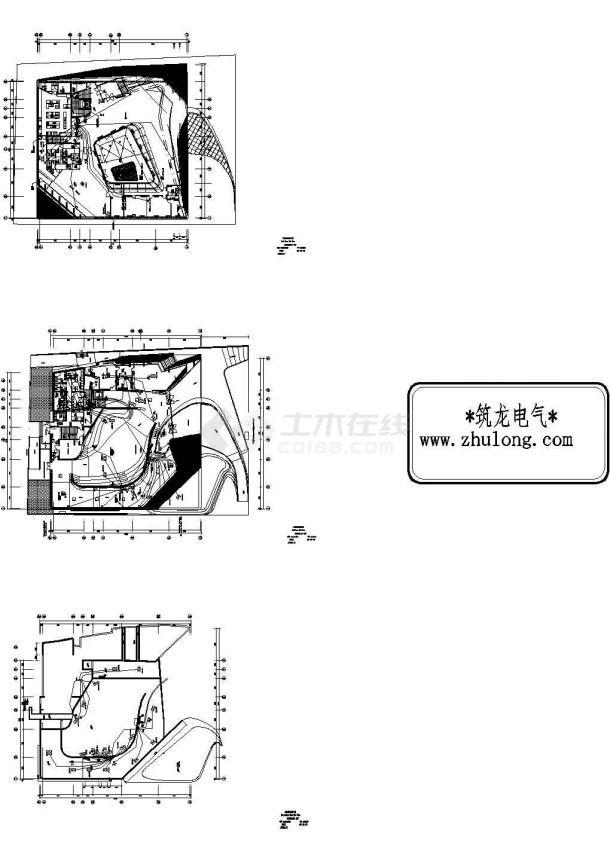 上海世博会某场馆BA系统控制原理图-图一