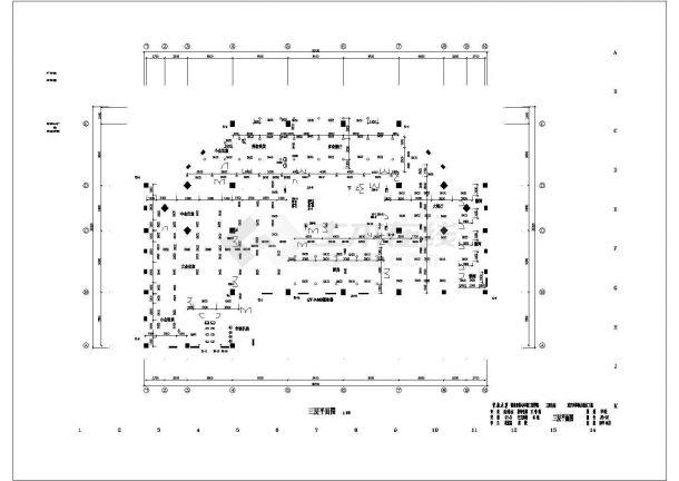 土木工程毕业设计_重庆某高校毕业生建筑给排水毕业设计图纸-图一