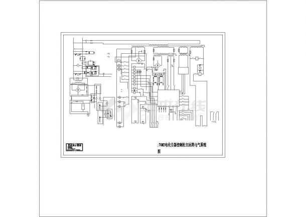 _70M2电收尘器控制柜主回路电气原理图cad-图一