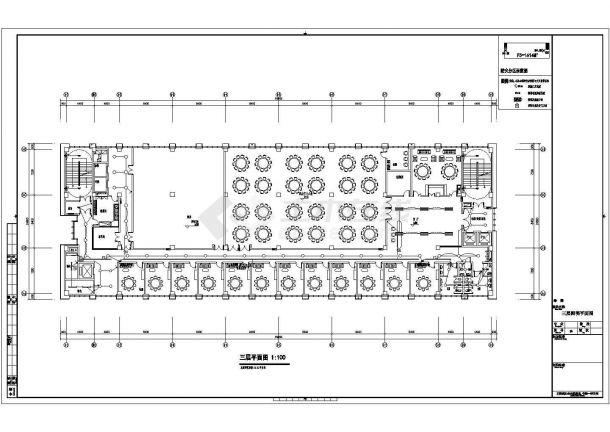 某8层机关后勤保障中心配电设计cad全套电气施工图纸(含设计说明,含弱电设计,含计算书)-图二