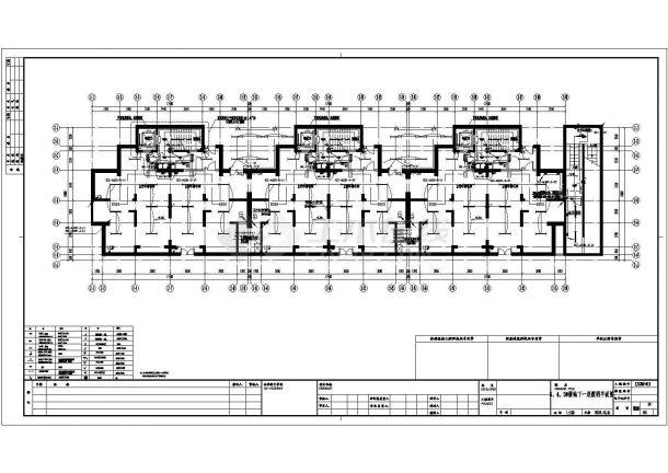 上海某三十三层商住楼配电设计cad全套电气施工图纸(含设计说明,含弱电设计,含审图意见、计算书)-图一