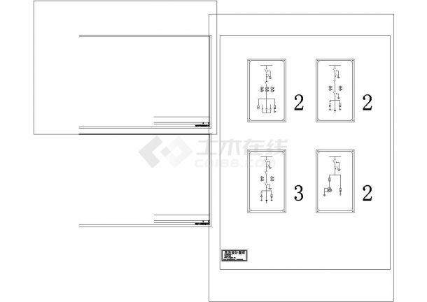 高压开关柜一次系统图CAD-图二