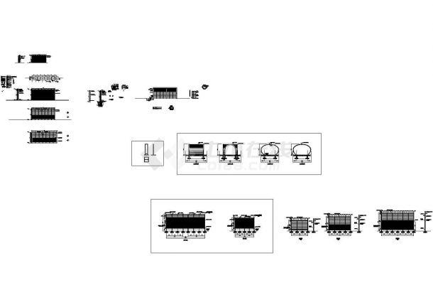 深圳某模块化垂直绿化生态种植容器设计CAD全套施工图纸(含设计说明)-图二
