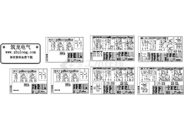 消防增压泵、喷淋泵二次回路控制原理图纸-图一
