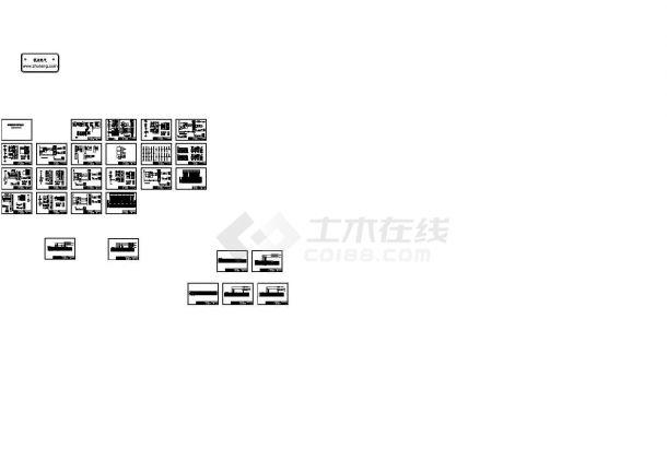 35KV变电站电气二次系统控制原理图纸-图一