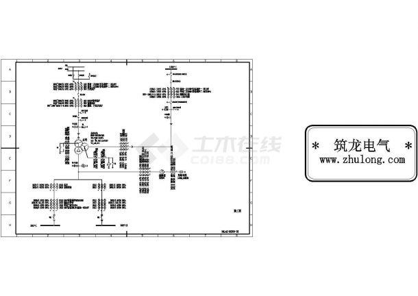 220KV变电站全套电气图纸-图二