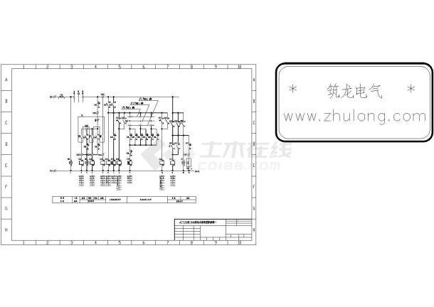 水泵类电气控制原理图集-图一