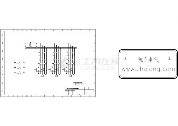 水泵类电气控制原理图集-图二