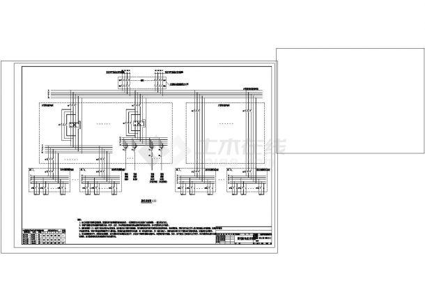 智能照明系统控制原理图cad图纸-图二