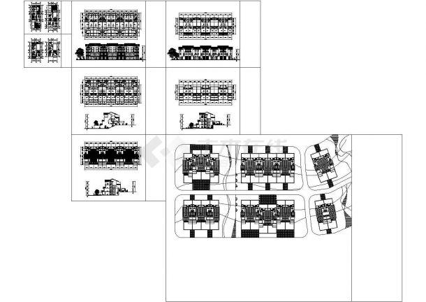 新世纪村镇康房建筑设计方案图-图一