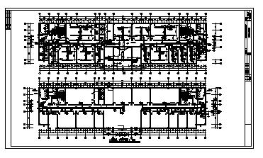 土木工程毕业设计_办公楼设计_某市九层办公楼中央空调系统设计cad图(含毕业设计,共九张)-图一
