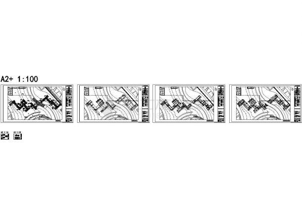 精选共5套图_某园林景观木栈道设计cad全套施工图纸(甲级院设计,共5套图纸)-图二