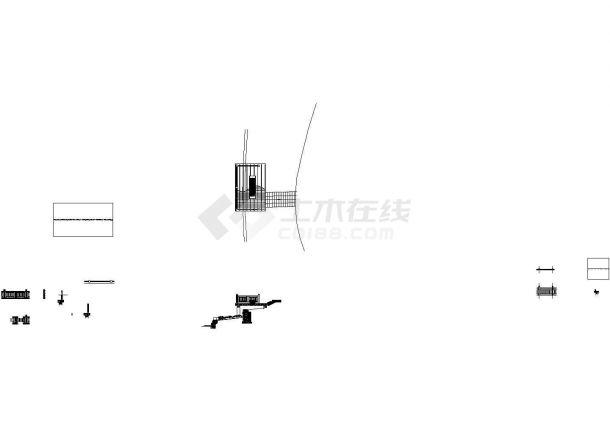 经典仿木栏杆设计cad全套施工图(甲级院设计,共5套图纸)-图二